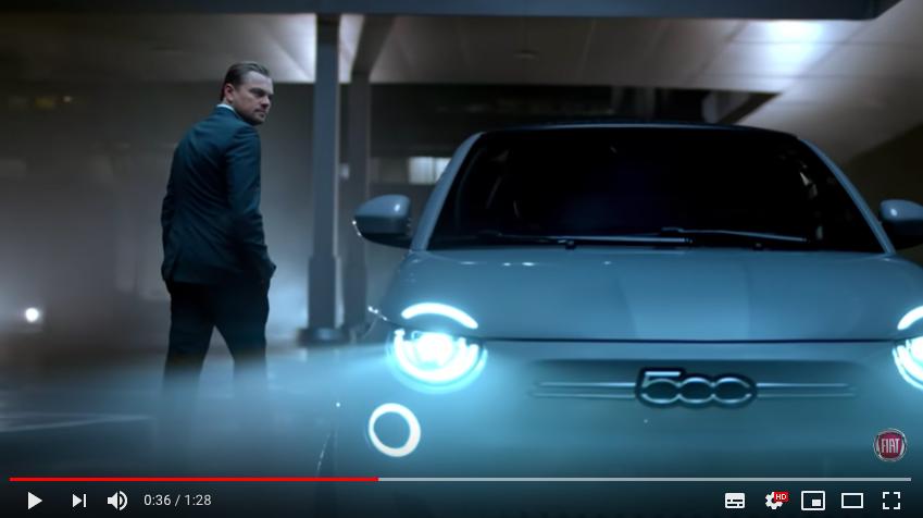 Publicité nouvelle Fiat 500